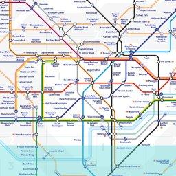 London Tube map image