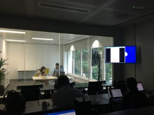 Usability testing in the UK in a London facility