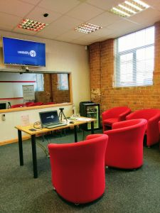 Usability testing in the UK in a Nottingham facility